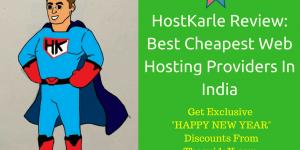 HostKarle Cheapest Web Hosting Providers