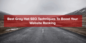 Gray Hat SEO Techniques To Boost Website Ranking