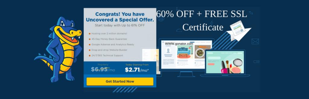Hostgator hosting benefits, Hostgator coupon, hostgator promo code